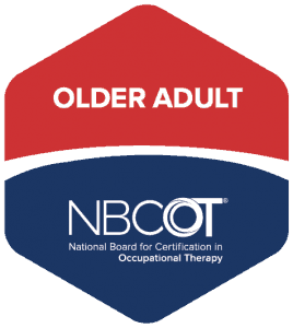 older adult NBCOT Badge