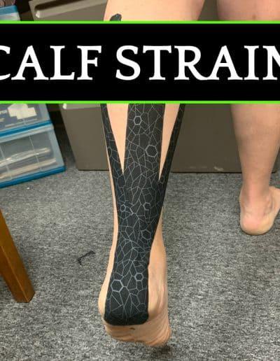 Calf Strain-Buffalo Occupational Therapy Alternative Pain Managment