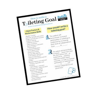 How to write Toileting Goals for OT- Buffalo Occupational Therapy