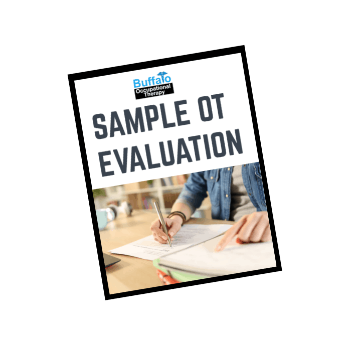 Sample Occupational Therapy Evaluation- Buffalo Occupational Therapy (1)